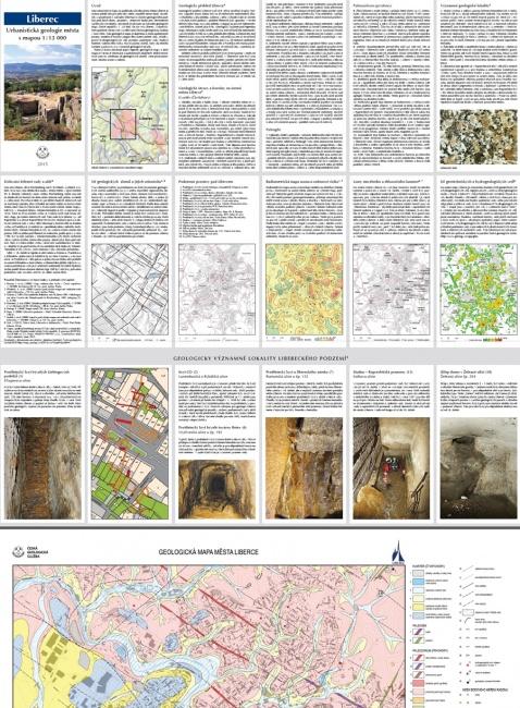 Urbanistická geologie Liberce s mapou