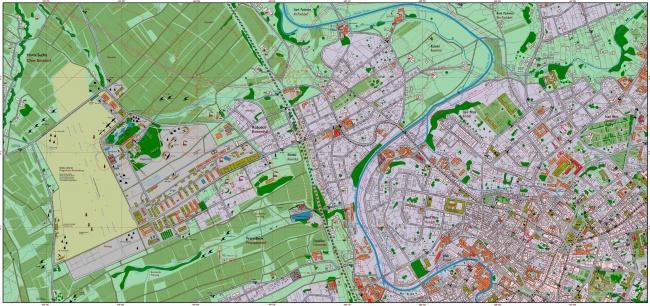 Mapy Liberce v květnu 1945